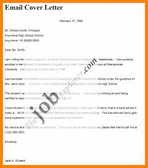 6 Email Covering Letter For Job Application Gcsemaths Revision
