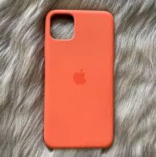 Apple iPhone 11 Pro Max Orange Case in 2021 | Iphone phone cases, Apple  phone case, Orange phone case