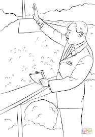 Small Picture Martin Luther King I Have a Dream coloring page Free Printable