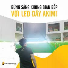 Tuyết Lights - Hệ Thống Đèn LED Chính Hãng - Bếp sáng - Nhà Sang với LED  dây Akimi