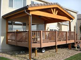 Deck Roof Plans Gable Roof Over Deck Deck Roof Styles Easy Roof Roof
