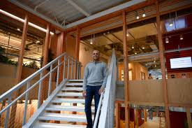 office facebook. Jay Parikh, Vice President Of Engineering For Facebook, Inside The New Offices This Morning Office Facebook