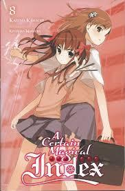 A Certain Magical Index Light Novel English Online A Certain Magical Index Ln Vol 8 Review Anime Tengoku