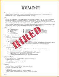 Job Resume Examples For College Students Unique Resume For Part Time