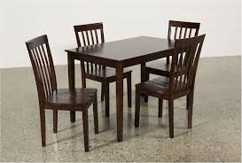 amazing carson ii 5 piece dining set walnut living spaces dining sets exquisite photograph 5 piece