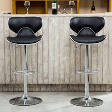 adjustable height swivel bar stool. Roundhill-Furniture-Masaccio-Airlift-Adjustable-Height-Swivel-Bar- Adjustable Height Swivel Bar Stool