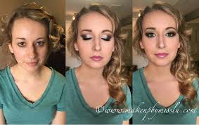timelapse video of hair and makeup from start to finish calgary mobile makeup artist specializing in wedding bridal party makeup editorial