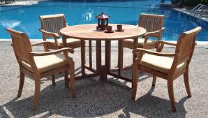 new teak outdoor dining table design