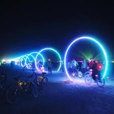 Best Burning Man Bike Lights Burningman Ver Esta Foto Do Instagram De Drupelosangeles