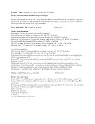 Site Superintendent Resume Construction Superintendent Resume Resume And Cover Letter 7