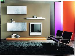 Simple Interior Design For Living Room Simple Interior Design And Amazing Painting Beside Glass Window