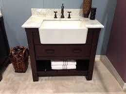 farmhouse sink bathroom vanity cabinet