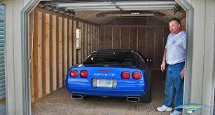 garage inside with car. There\u0027s Plenty Of Room Inside Our Garages Garage With Car B