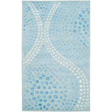 safavieh soho light blue 9 ft x 12 ft area rug