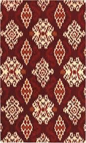 shaw world market indonesia ikat medallion rug and ikat rug
