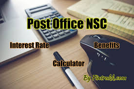 Post Office Nsc Interest Rate Chart Taxation Benefit