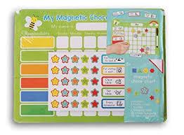 Magnetic Chore Chart Chore Record Kit