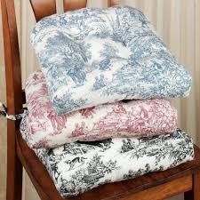 victoria park toile chair cushion set of 2