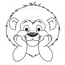 printable lion coloring pages baby lion coloring pages coloring pages baby lion cute free printable s