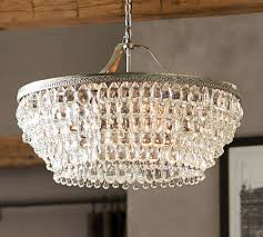 pretty chandelier lighting chandeliers pend on a glam chandelier makes house home pottery b