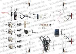 roketa gk 32 electrical parts