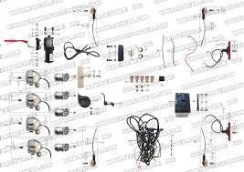 roketa gk electrical parts