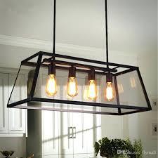 rectangle chandelier