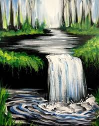 beginner easy landscape sketches to draw inspirational simple acrylic canvas painting ideas for beginners gallery of