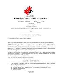 Athlete Sponsorship Contract Template 24 Best Images Of Athlete Sponsorship Agreement Template Event 17