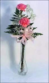 phi mu 2 carnation vase in