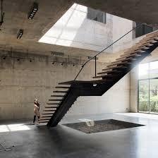 Inflatable Concrete Concrete Art Gallery And Studio In Bangkok Features Four Storey Atrium