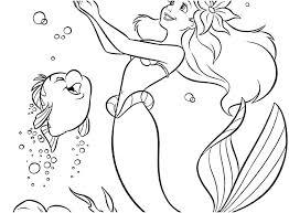 Disney Ariel Coloring Pages Theaniyagroupcom