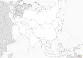 Small Picture Asia Map coloring page Free Printable Coloring Pages