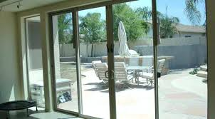 small sliding glass door large size of with transom patio internal blinds cabinet doors