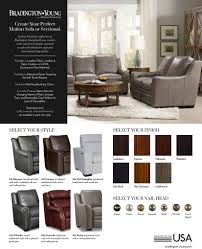 Living Room Furniture Made In The Usa Bradington Young Luxury Motion Furniture Made In The Usa