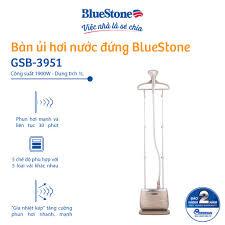 Mã ELMALLCOIN hoàn 5% xu đơn 500K] Bàn ủi hơi nước đứng BlueStone GSB-3951