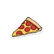 cheese pizza slice png. Perfect Png The Pepperoni Pizza Slice Sticker  Product Image To Cheese Png N