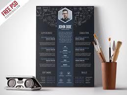 Resume Template Download Free Creative Designer Resume Template Psd