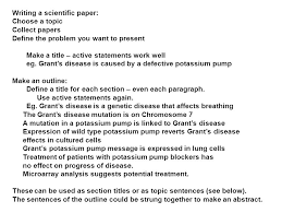 research papers biology l research paper genetics behind  writing a scientific paper choose a topic collect papers define the problem you want to