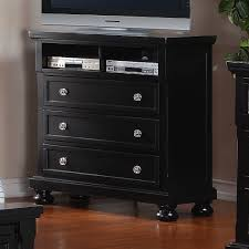 Media Chest Bedroom New Bedroom Media Chest 3 Storage Drawer Solid Wood Material Solid
