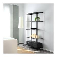 ikea glass shelf unit shelf unit tempered glasetal are durable materials that provide an