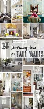 inspiration for decor on a high wall shelf 24 ways to decorate tall walls