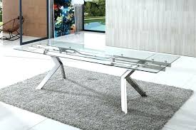 extendable glass dining room sets top table interior tables extension small extendable glass dining table