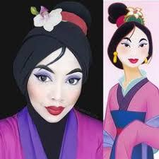 1ba83b00ca12e1cbc0a655f8700d2f73 disney princess makeup mulan makeup jpg
