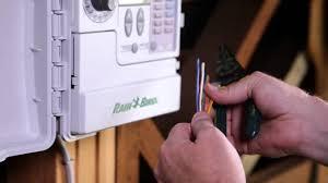rain bird sst smart sprinkler timer installation