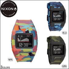 the usa surf rakuten global market nixon nixon watch men the nixon nixon watch men the lodown ii camouflage pattern blue green