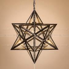star shaped lighting. Epsilon Star Shaped Industrial Lantern Lighting