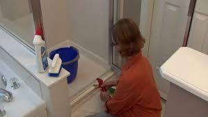 bathroom cleaning tips how to clean shower door tracks you regarding fascinating how to clean bathroom shower doors decorations