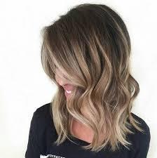 Medium Length Black Hair With Blonde Highlights