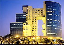 microsoft office building. signature towers gurgaon microsoft office building